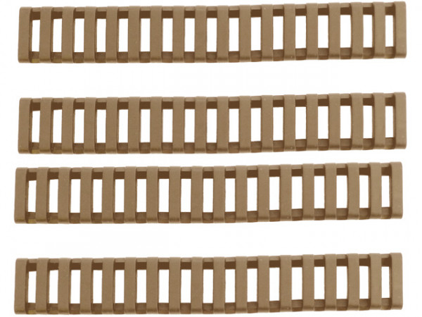 Gummi Rail Cover Set 22mm RIS 170mm - TAN / BOYIRC22MMRIS170TAN