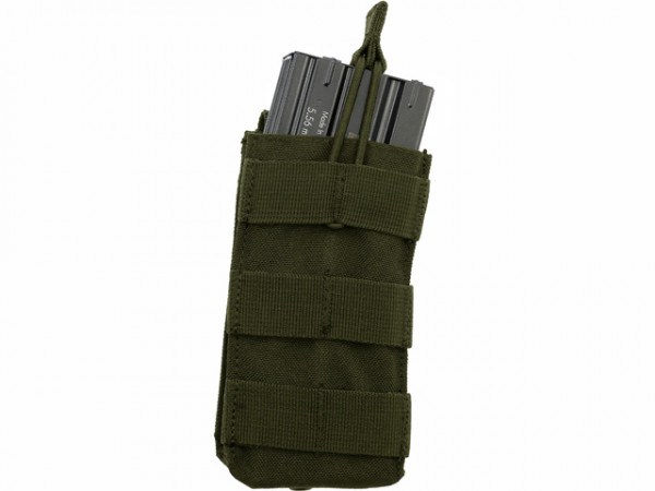 Single Open-Top M4 Mag Pouch - Oliv