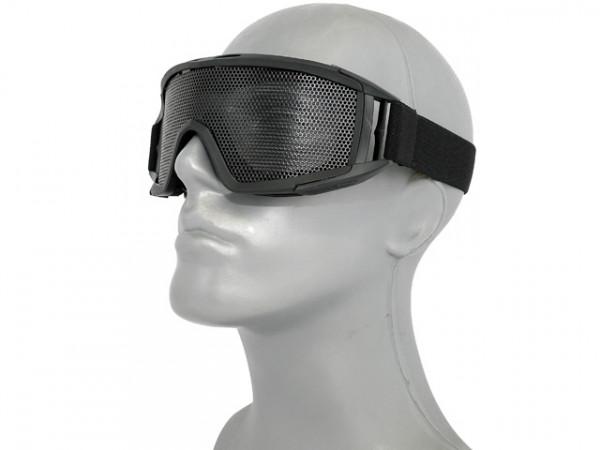 Gitterschutzbrille - Schwarz / GSBS