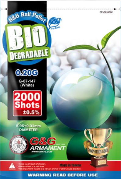 G&G Bio BB´s 0,20g - 2000 Schuss