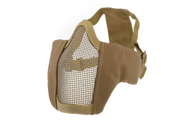 Gitterschutzmaske Comfort - Tan