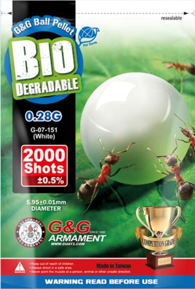 G&G Bio BB´s 0,28g - 2000 Schuss