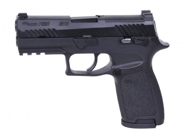 Sig Sauer Proforce P320-M18 Airsoftpistole GBB-schwarz