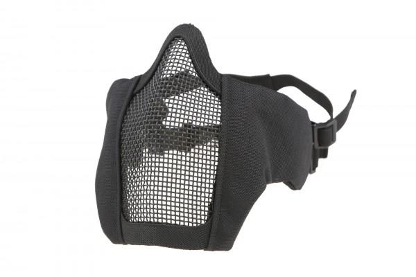 Gitterschutzmaske Comfort - schwarz