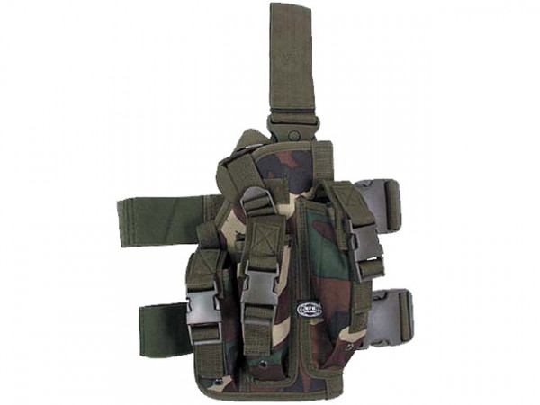Beinholster für MP7 - Woodland / MFHBHWMP7