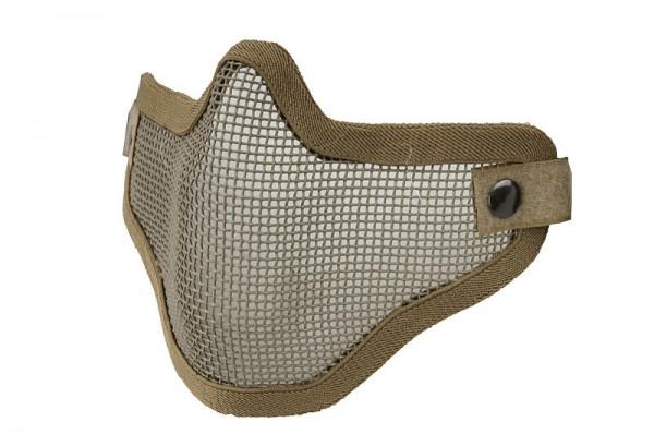 Gitterschutzmaske - Tan