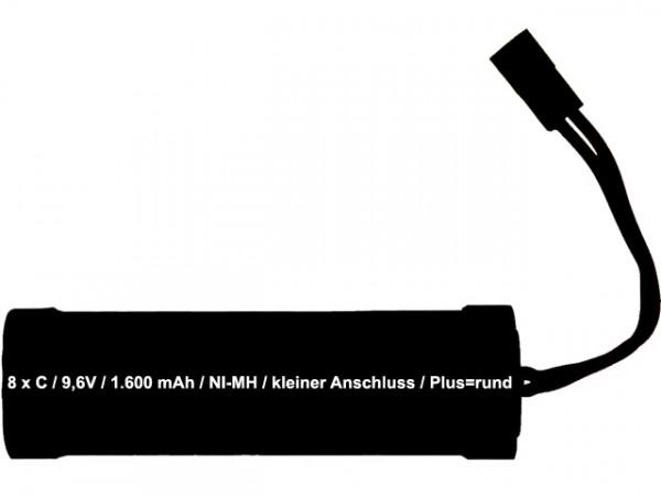 Akku Type AC - 1.600mAh
