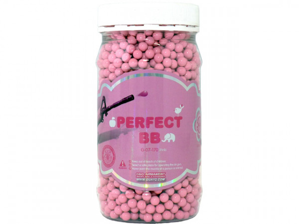 "2.400 6mm BBs 0,20g ""Perfect BB"" - PINK / G&GPEBB20PI2400"