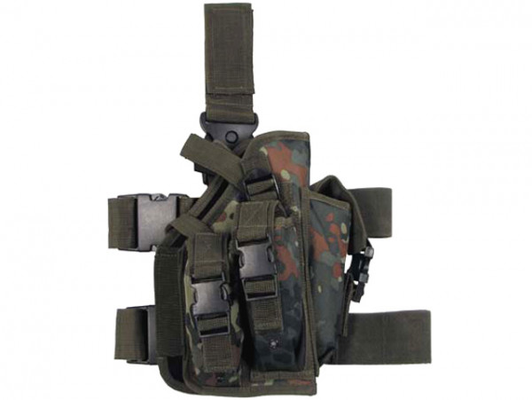 Beinholster für MP7 - Flecktarn / MFHBHFMP7