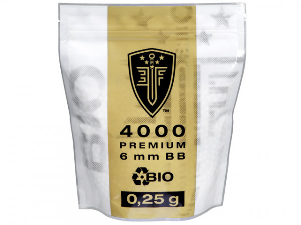 Elite Force Premium Bio BBs 0,25g - 4000 Schuss