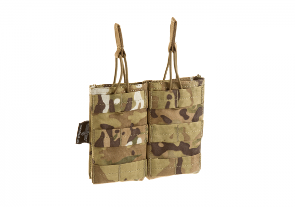 Double Open-Top M4 Mag Pouch - Multicam