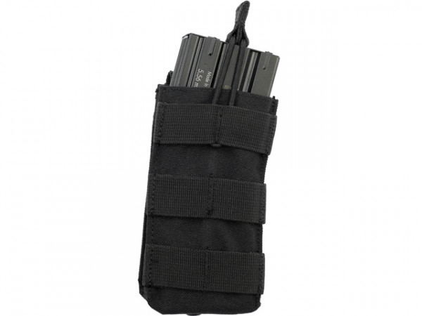 Single Open-Top M4 Mag Pouch - Schwarz / CONOD-MA18-SW