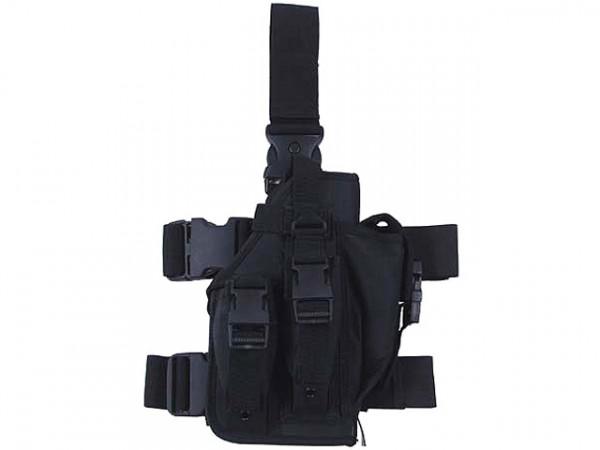 Beinholster für MP7 - Schwarz / MFHBHSMP7