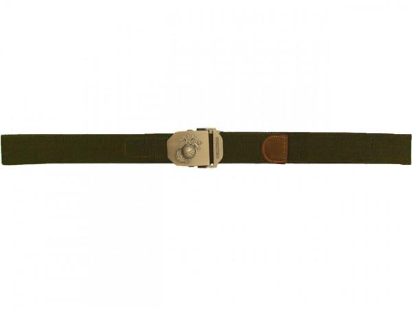 USMC Hosengürtel 40mm Oliv / MFH-USMCHG-O