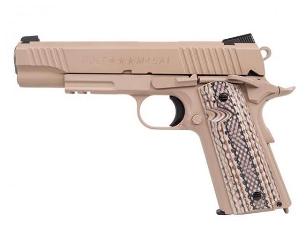 Colt 1911 Railgun M45A1 Tan