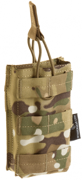 Single Open-Top M4 Mag Pouch - Multicam