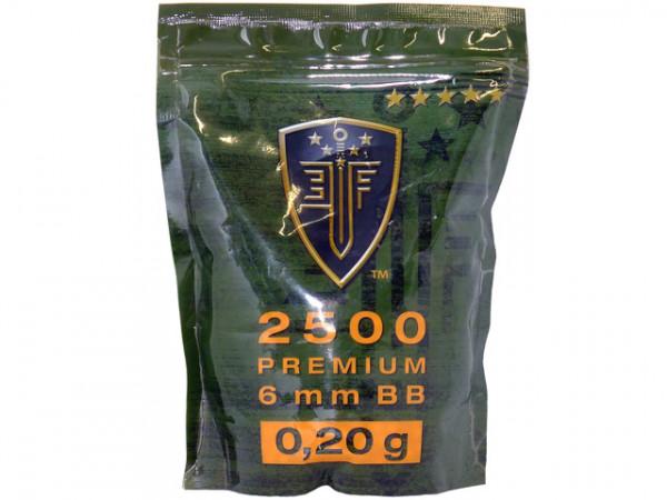 2.500 6mm BBs 0,20g Premium / EF202500