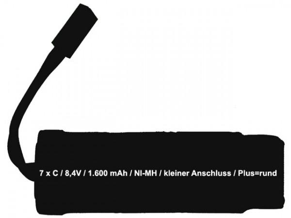 Akku Type AB - 1.600mAh
