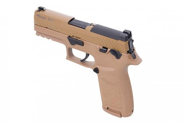 Sig Sauer Proforce P320-M18 Airsoftpistole GBB-tan