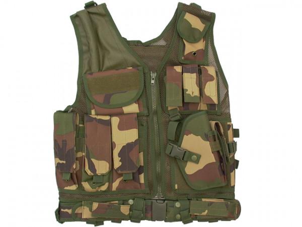 Tactical Weste - Woodland / TW-KRA-W