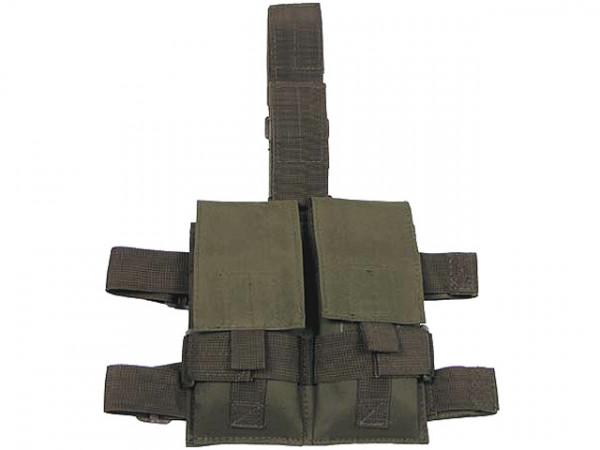 Magazintasche mit Beinhalterung - Oliv / MTBH-MFH-O