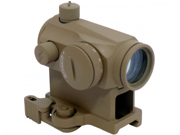 T1 QD Kit Red Dot -TAN / ELT1QDKRDTAN