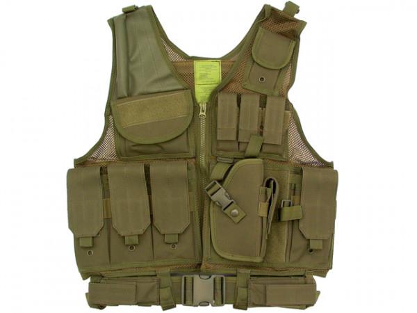Tactical Weste - Oliv / TW-KRA-OL